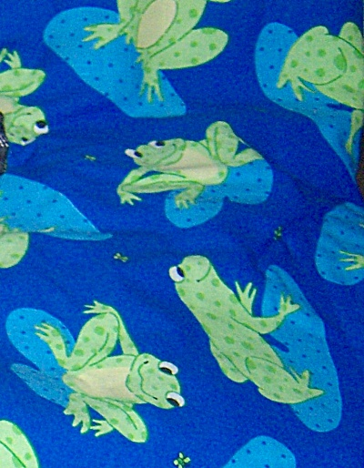 Fabric Frogs Signature Classics By Oakhurst - 1.75 Yd