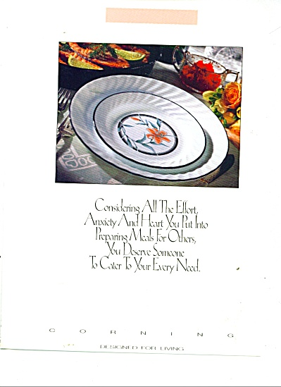 Corning  Ware - Pyrex VISIONS ads 1991 6 pg (Image1)