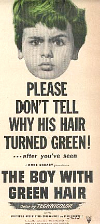 1948 The Boy with Green Hair Movie AD (Image1)
