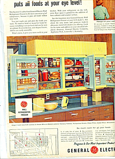 General electric built in range ad - 1956 (Image1)