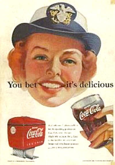 1952 WAC Coca Cola COKE AD (Image1)