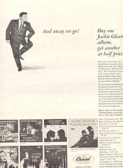 Jackie Gleason Albums Ad (Image1)