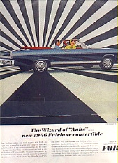 1966 Ford Fairlane GT Convertible Ad (Image1)