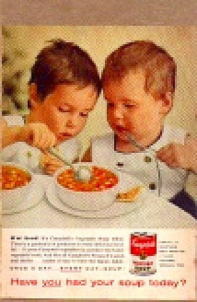 1959 Cute Little Kids Campbells Soup Ad (Image1)