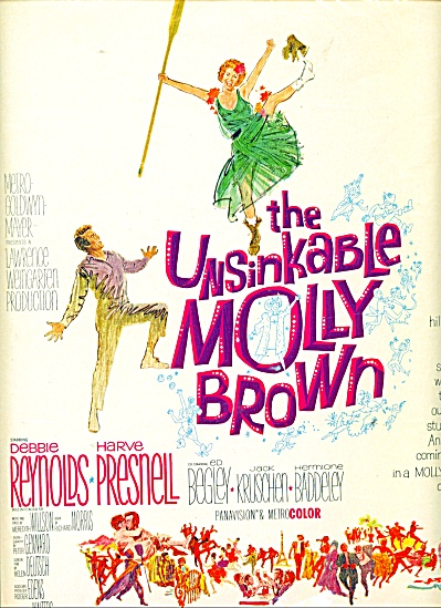 Movie AD PROMO The Unsinkable Molly Brown (Image1)