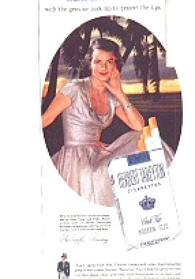 1954 Herbert Tareyton Mrs. Charles Amory Ad (Image1)