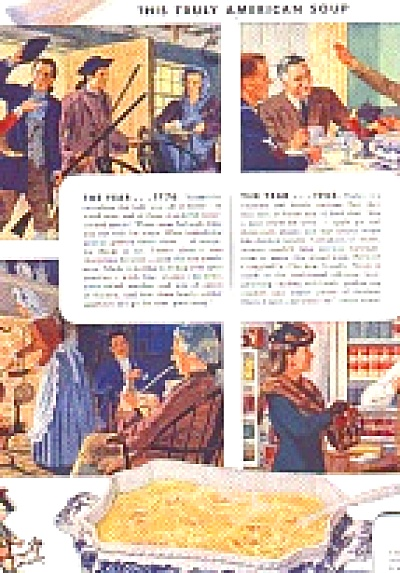 1945 Now and Then Campbells Soup Ad (Image1)