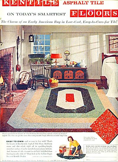 Kentile floor ad Asphalt ~ Vinyl ASBESTOS (Image1)