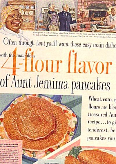 1954 Aunt Jemima Pancake Legend Ad (Image1)