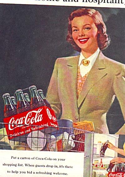 1951 Home Hospitality Coca-Cola Ad (Image1)