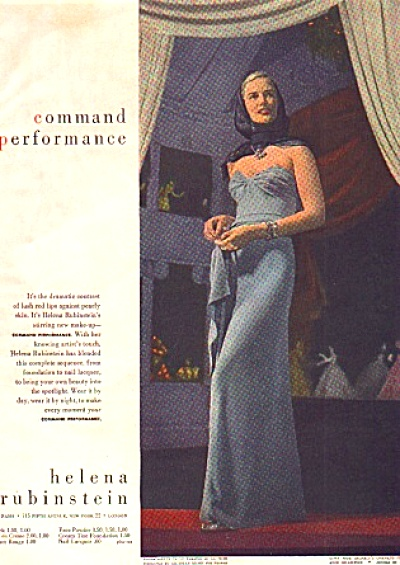 1946 Helena Rubinstein Command Performance Ad (Image1)