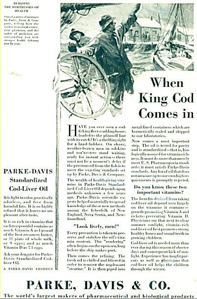 1929 PARKE DAVIS DRUG Pharmaceutical AD COD L (Image1)