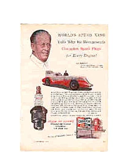 1951 Champion Spark Plug Ab Jenkins AD (Image1)