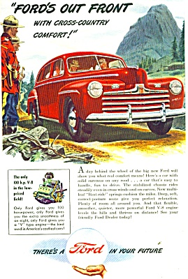 1946 Ford Car AD IN YOUR FUTURE Artwork (Image1)