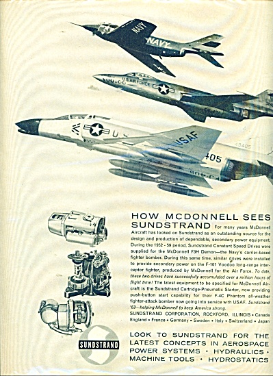 Sundstrand  - McDonnell aircraft ad 1963 (Image1)