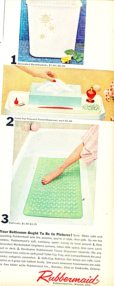 Rubbermaid products ad 1958 (Image1)