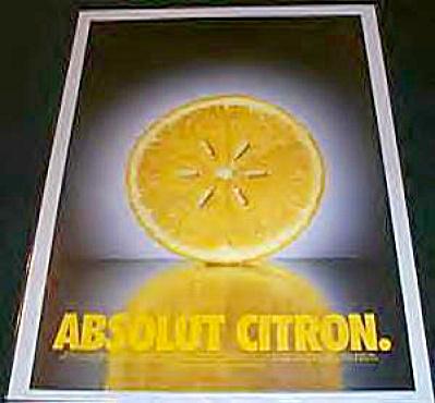 Absolut CITRON Lemon Seeds AD (Image1)