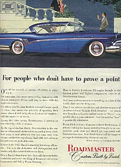 1957 Buick Roadmaster Car AD (Image1)