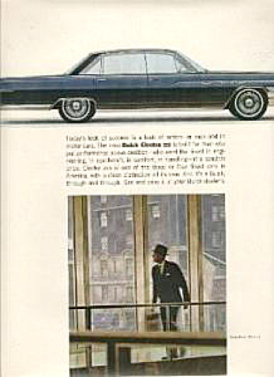 1963 Buick Electra 225 CAR AD - BIG RIDE (Image1)
