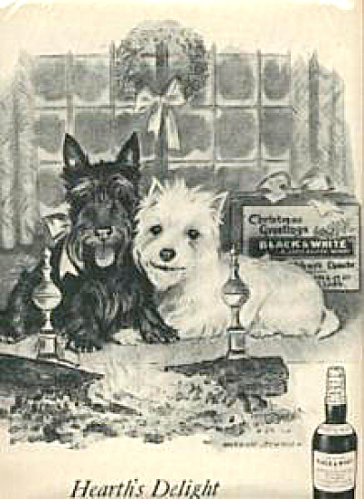 1959 Black & White Holiday Scotty Westy AD (Image1)