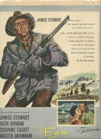 THE FAR COUNTRY James Stewart MOVIE AD (Image1)