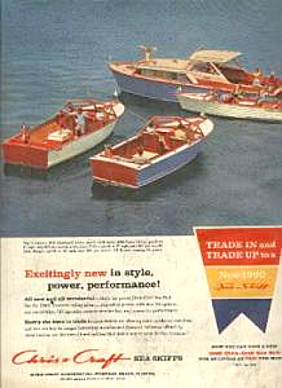 1959 Chris Craft Sea Skiffs Boat AD (Image1)