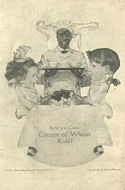 1917 Rastus Cream of Wheat Servant AD (Image1)