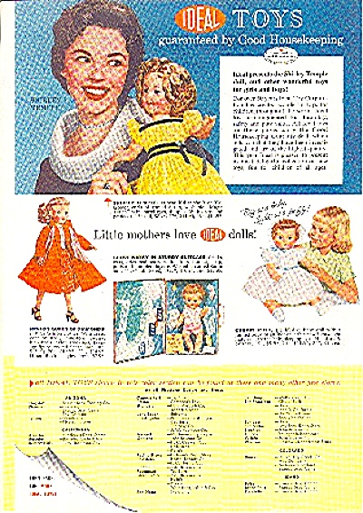 1958 IDEAL TOY AD 3 pg REVLON - SHIRLEY TEMPL (Image1)