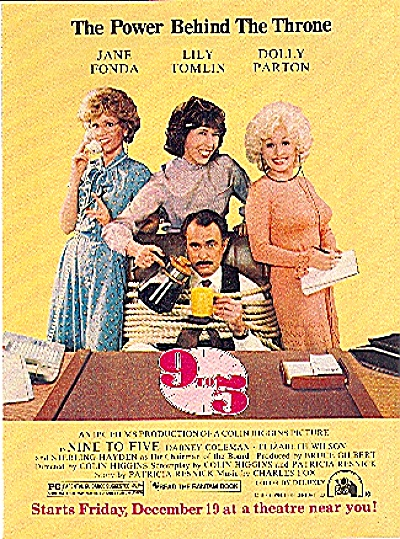 1980 9 to 5 Dolly Parton - Fonda MOVIE AD (Image1)