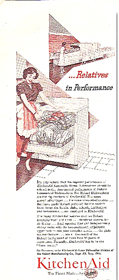 1952 KITCHEN AID AUTOMATIC DISHWASHER AD (Image1)
