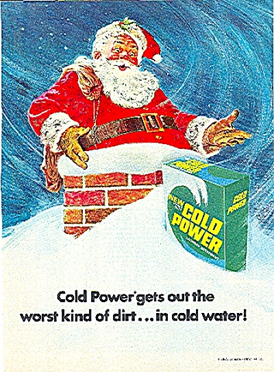 1971 COLD POWER LAUNDRY DETERGENT AD (Image1)