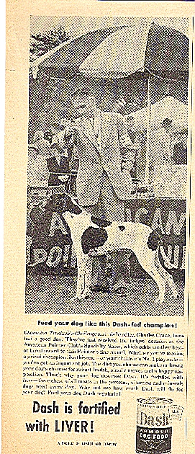 1953 DASH ARMOUR DOG FOOD AD (Image1)