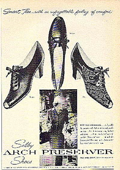 1959 Selby Arch Preserver Shoes Ad