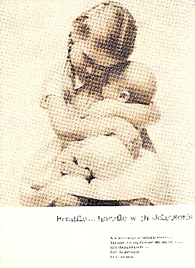 1959 JOHNSON'S BABY OIL AD (Image1)