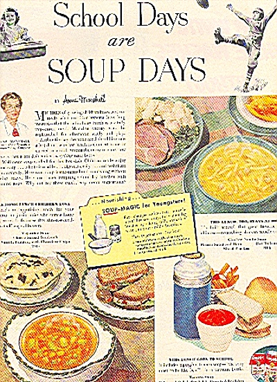 1951 CAMPBELL SOUP SCHOOL DAYS ARE SOUP DAYS (Image1)