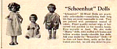 1926 Schoenhut Wood Doll Circus Toy AD (Image1)