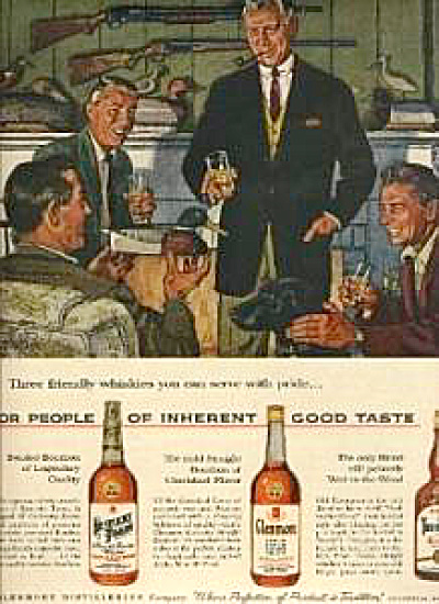 1959 Alex Ross Duck Decoy Whiskey AD (Image1)