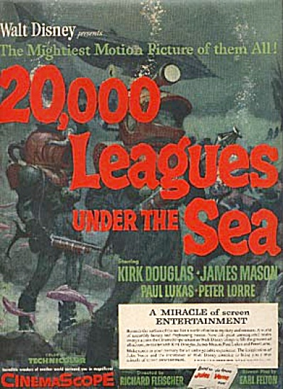 1954 Disney's 20,000 Leagues under the Sea AD (Image1)