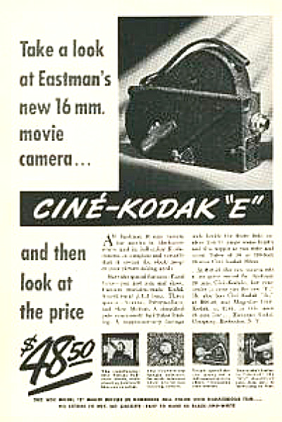 1937 Eastman Kodak 16mm Movie Camera AD (Image1)