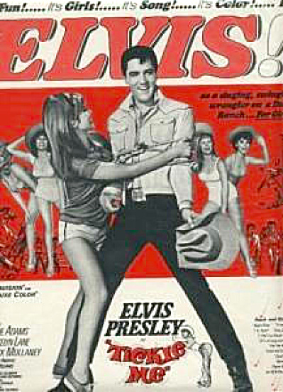 Elvis Presley TICKLE ME Movie AD 1963 (Image1)