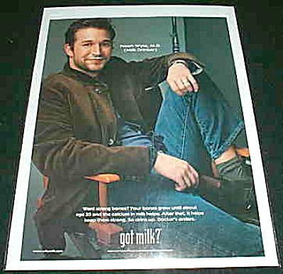 GOT MILK? Noah Wyle MD Actor AD (Image1)