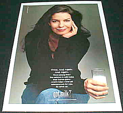 GOT MILK?  Sela Ward looking beautiful AD (Image1)