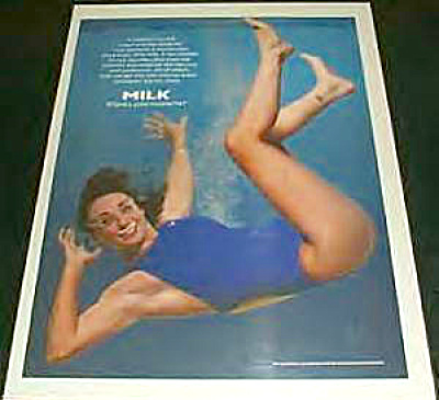 Got Milk? Amy Van Dyken Swimming Ad