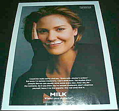 Got Milk? Sherry Stringfield Wheres Mustache