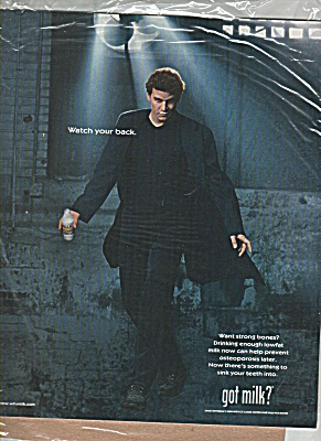 Got Milk David Boreanaz Ad (Image1)