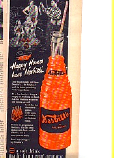 1954 Nesbitts Orange Soda Happy Homes Ad (Image1)