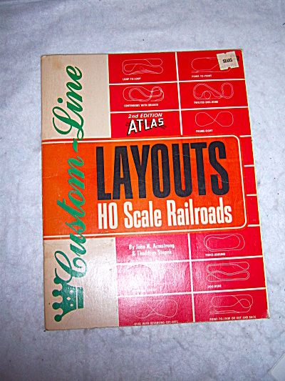 Atlas Custom-line Layouts For Ho Scale Railroads
