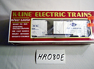 New Nos K-line O O-27 Train K- 7504 Reading Reefer Refr