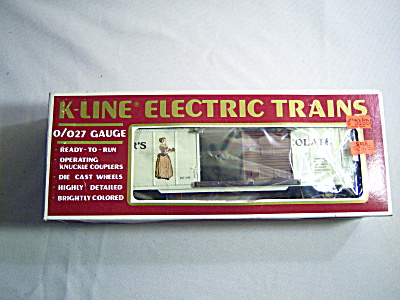 K-line Electric Train Car Bakers Chocolate K-6435 Box