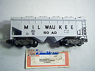 American Flyer S Milwaukee Road Covered Hopper 6-48605